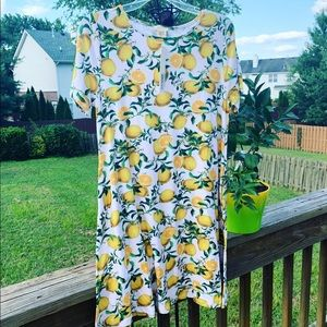 Lemon 🍋 Dress with Pockets by Yelete NWT